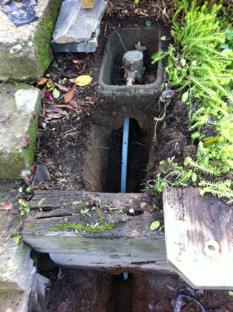 sewer replacement in Portland