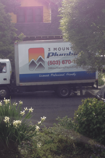 emergency service in Portland with 3 Mountains Plumbing
