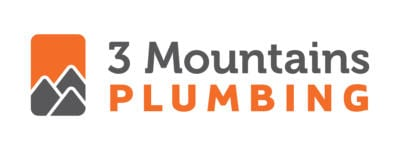 3 Mountains Plumbing horizontal logo - header